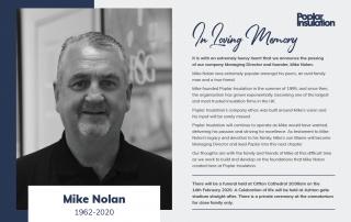 In Memory of Mike Nolan