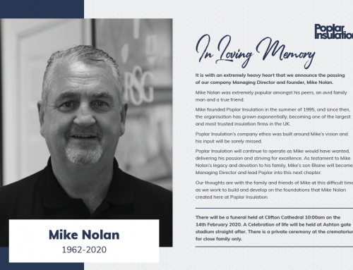 In Loving Memory of Managing Director Mike Nolan